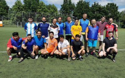 Interkulturelles Fußball Training